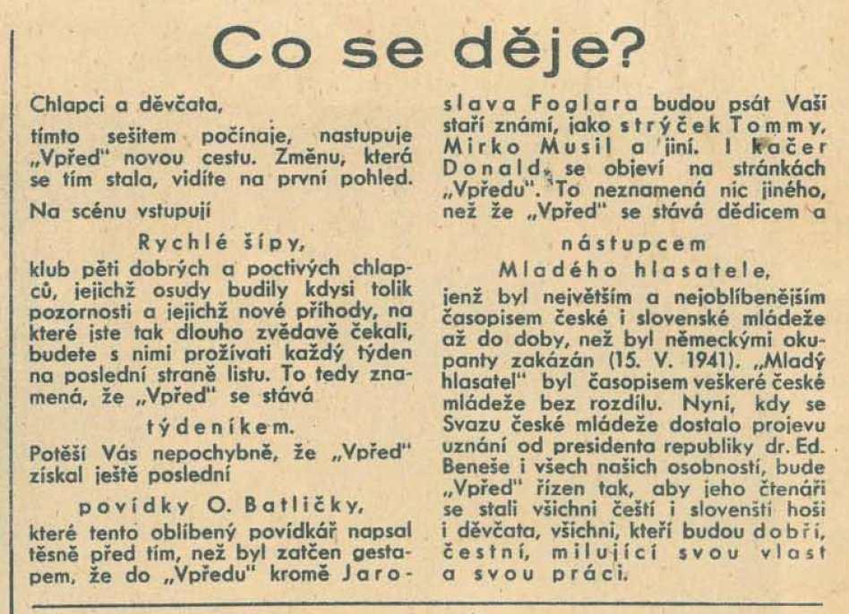 vpred_1-rocnik_1945-46_cislo_18_co_se_deje