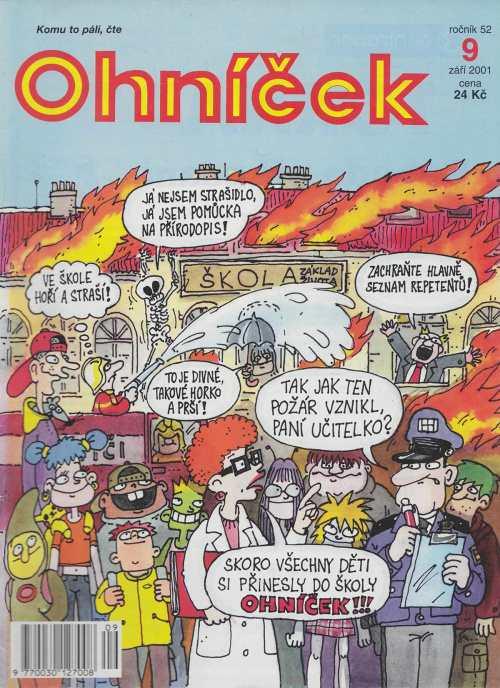 Kreslene Serialy 10 Stranka Stare Casopisy Pro Deti A Mladez V