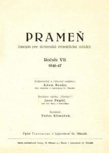 PRAMEN_07.rocnik_(1946-47)_obsah